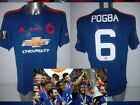 Manchester United Adidas BNWT M L XL Soccer Shirt Jersey Europa Cup Pogba Others