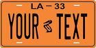 Louisiana 1933 License Plate Personalized Custom Car Bike Motorcycle Moped Tag
