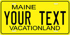Maine 1968 License Plate Personalized Custom Auto Bike Motorcycle Moped Key Tag