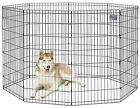 """Exercise Pens Training Kennel Pet Playpen Small Large Dog 16""""-30"""" or 8 pcs Stake"""