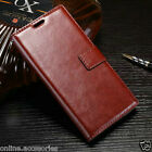 VINTAGE PU LEATHER FLIP WALLET STAND COVER BACK CASE FOR SONY XPERIA XZ PREMIUM