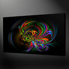 COLOURFUL ABSTRACT MODERN DESIGN WALL ART CANVAS PRINT PICTURE READY TO HANG