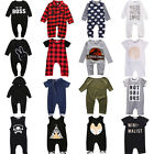Cotton Newborn Kids Infant Baby Boy Girl Romper Jumpsuit Bodysuit Clothes Outfit