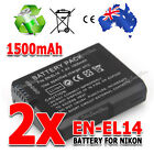 EN-EL14 Camera Battery For Nikon D3100 D3200 D3300 D3400 D5200 D5300 D5500 D5600