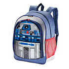 "AMERICAN TOURISTER STAR WARS R2-D2 16"" Multi-Pocket School Backpack NWT  $40"