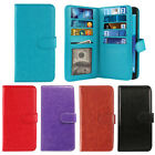 multi cases - For Samsung Galaxy J7 2017/ J7V Multi Card Slot Leather Wallet Bifold Cover Case