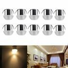 5/10x3W LED Recessed Ceiling Light Lamp Cabinet Mini Spot Lamp Downlight Round