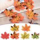 Artificial Maple Leaf Garland Autumn Fall Leaves Garden Yard Party Home Décor