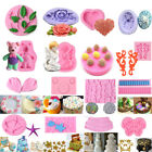 3D Silicone Fondant Mold Cake Decorating Candy Chocolate Sugarcraft Baking Mould image