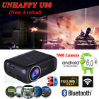 Uhappy U80 Android6.0 WIFI 1080P HD LED 7000Lumens Home Theater HDMI Projector