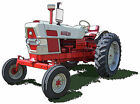 Ford Model 6000 farm tractor canvas art print by Richard Browne