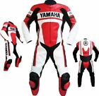 Pantalone Giacca di pelle in pelle Motociclista Yamaha Motorcycle Suit