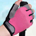 1Pair Weight Lifting Gym Fitness Sports Breathable Gloves Half Finger Fingerless