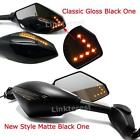 Motorcycle LED Turn Signals Side Mirrors For KAWASAKI NINJA 650R 500R 250R 636 $27.52 USD