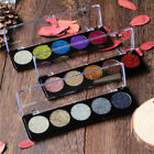 5 Colors Face Makeup Shiny Glitter Eyeshadow Palette Eye Shadow Pressed Powder