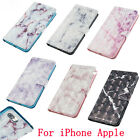 cf card slot - Marble Pattern For iPhone X 8 Samsung LG Flip Stand Card Slots Wallet Cover Case