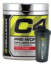 Cellucor C4 Extreme (60 Serving) + FREE SHAKER Pre Workout G4 / 4TH GENERATION