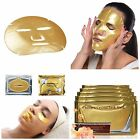 24k Gold Face Mask Collagen Hyaluronic Acid Facial Eye Neck & Lip Anti Ageing