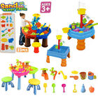 Sand Water Table Watering Can Spade Kids Outdoor Garden Sandpit Play Set Toys