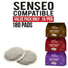 180 Pods Senseo compatible Italian Coffee VALUE PACK $0.19/pad and Free Shipping