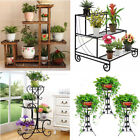 5 Designs Flower Pot Plant Stand Planter Rack Shelf Shelves Organizer Garden USA