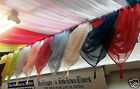 Swags In Plain Voile With A Tassel WERE £4.50 NOW ONLY £2.99 EACH