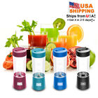 UPortable Electric Mini Cup Fruit Juicer Smoothie Maker USB Blender Rechargeable
