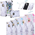 Marble Pattern Hard Bumper Protective Case Cover For Apple iPhone 6 6s 7 Plus