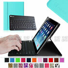 Leather Case + Bluetooth Keyboard For Samsung Galaxy Tab A 10.1 / 9.7 / 8.0 /7.0