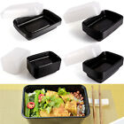 Fit Meal Prep Food Storage Containers Lids Plastic Deli Leakproof Safe Stackable