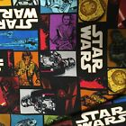 STAR WARS FORCE AWAKENS SUPER STRETCHY JERSEY FABRIC SOLD BY THE HALF METRE NEW £9.5 GBP