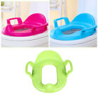 Kid Potty Training Seat Trainer Toddler Boy Girls Handle Toilet Seat Pad Cushion