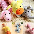 Cute Portable Pet Dog Plush Chewing Squeaker Sound Toys Healthy Squeaky Toy 1pc
