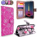 For Samsung GALAXY S8 Leather Flip Card Slot Wallet Protective Case Cover Stand