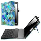"For iPad 9.7"" 2017 / iPad Pro Stand Case Cover + Detachable Bluetooth Keyboard"