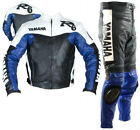 R6 Motorbike Leather Suit Sports Motorcycle Racing Leather Jacket Pant All Sizes