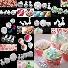 Fondant Cake Cutter Plunger Cookie Mold Sugarcraft Flower Decorate Mould Mold