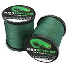 (0,04€/m) Wallerschnur 1000M Krawaller The Catfish Role moosgrün 0,45mm/0,62mm W