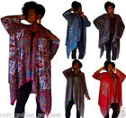 choose color scarf jacket patched art to wear OS-M L XL 1X 2X womens  fashion