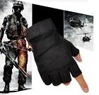 US Men Tactical Military Army Combat Gloves Fingerless Gloves For Hunting Riding фото