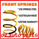 PROTON PERSONA 1.6 LTR 1997-2005 LOWERED 30MM FRONT SPRINGS