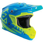 Answer 2018 AR-1 MX/Motorcross Youth Helmets - Yellow/Blue - New Product!!!!!