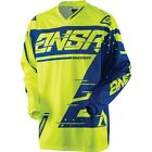 ANSWER 2018 SYNCRON MX/Motorcross Adult Jersey - Yellow/Blue - New Product!!