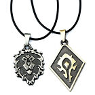 2017 World of Warcraft WOW League Pendant Necklace Metal Alloy Gift Collection