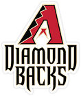 Arizona Diamondbacks Logo Vinyl Sticker Decal *SIZES* Cornhole Truck Wall Car