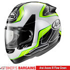 Arai Axces III Flow Green - Now £379.99