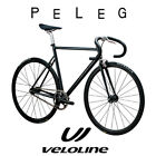 VELOLINE Fixed gear bike LUCY BALANCE Fixie bicycle Alloi 170mm 46T NOVATEC