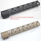 15'' inch M-lok LR-308 Handguard Rail Clamping Style Free Floating Mount System