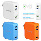 US. Lumsing Multi Port 35W USB Wall Charger Rapid Charging Travel Hub Universal