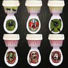 Toilet Seat Grabber Cover  Decor For Halloween Party Sticker Prop Zombie Horror